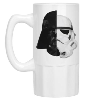 Пивная кружка Star Wars: Вейдер и Штурмовик