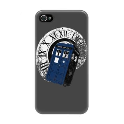 Чехол для iPhone 4/4s TARDIS
