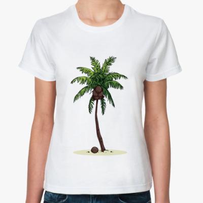 Классическая футболка Кокосовая пальма