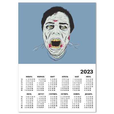 Календарь Зомби