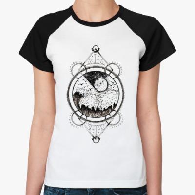 Женская футболка реглан Ocean