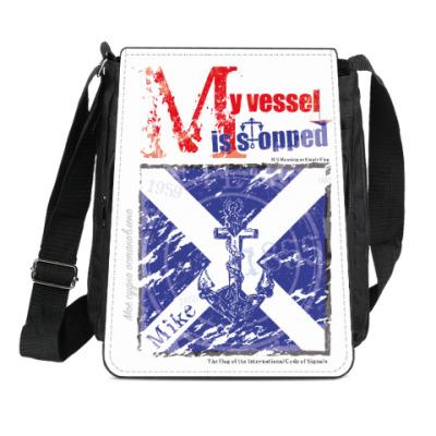 Сумка-планшет Морской флаг «Mike»