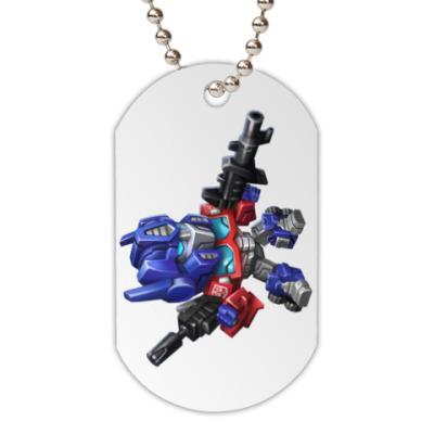Жетон dog-tag Optimus Prime