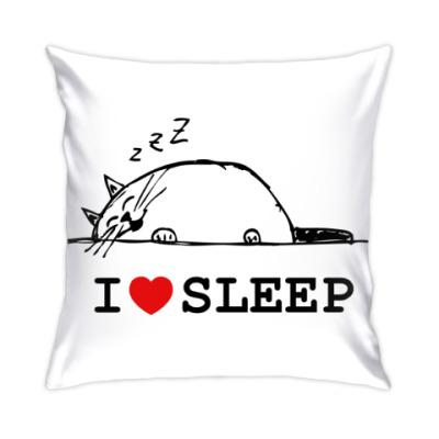 Подушка Я люблю спать