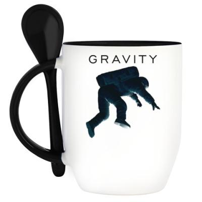 Кружка с ложкой Gravity