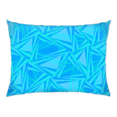 Подушка Морская абстрактная