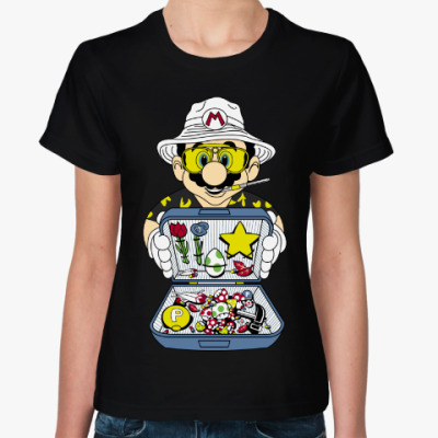 Женская футболка Супер Марио - Рауль Дюк