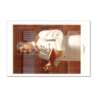Наклейка (стикер) Сталин