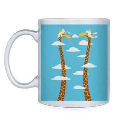 Кружка 'Счастливые жирафы'