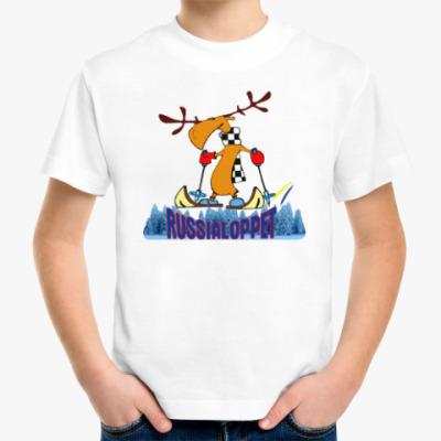 Детская футболка Russialoppet