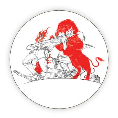 Костер (подставка под кружку) FireLion