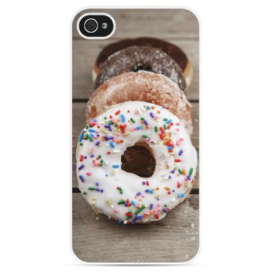 Чехол для iPhone пончики