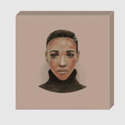 Холст Эфиопская девушка