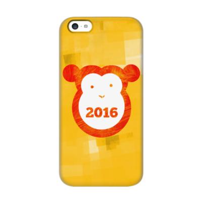 Чехол для iPhone 5c Год Огненной Обезьяны 2016