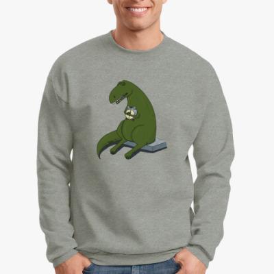 Свитшот  Тираннозавр-соня