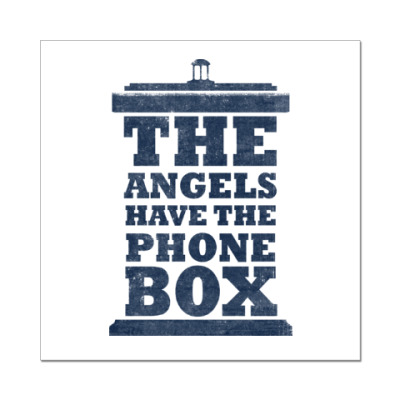 Наклейка (стикер) The Angels Have The Phone Box
