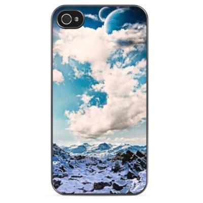 Чехол для iPhone Горы и небо