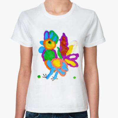 Классическая футболка Петушок