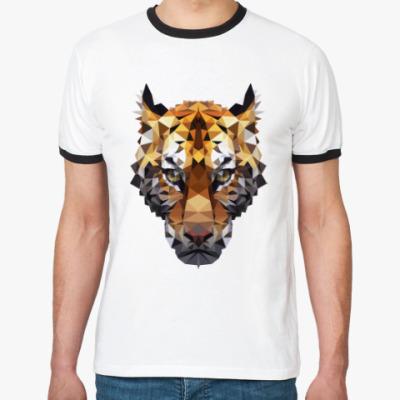 Футболка Ringer-T Тигр / Tiger