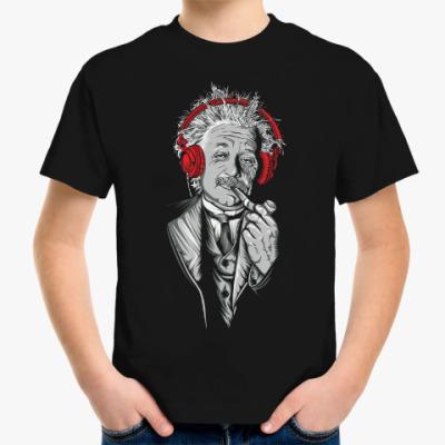 Детская футболка Albert Einstein relaxed