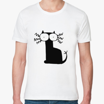 Футболка из органик-хлопка Кошка Вя
