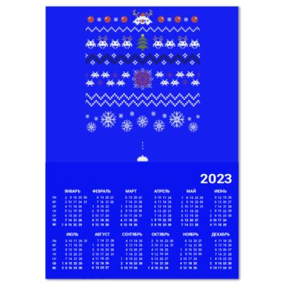 Календарь Свитер Space Invaders