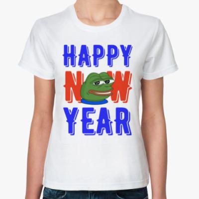 Классическая футболка Happy New Year
