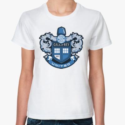 Классическая футболка Gallifrey United