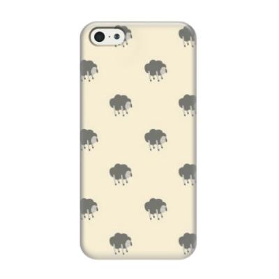 Чехол для iPhone 5/5s Сонные овечки