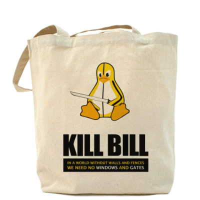 Сумка  Tux Kill Bill