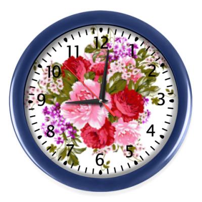 Настенные часы Нежный букет
