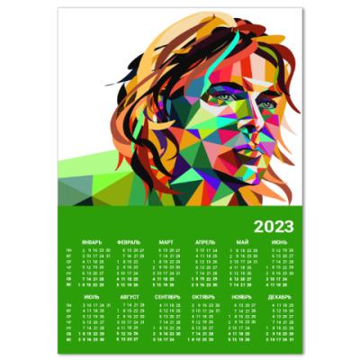 Календарь Portrait