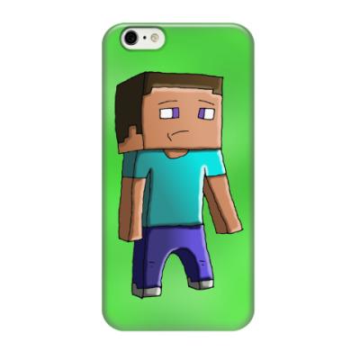 Чехол для iPhone 6/6s Minecraft Steve