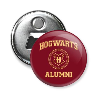 Магнит-открывашка Hogwarts Alumni