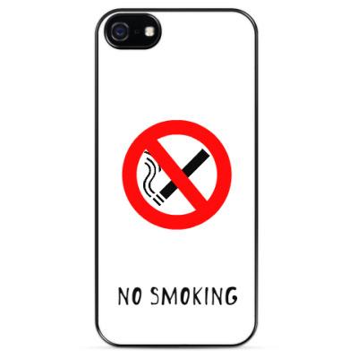 Чехол для iPhone No smoking