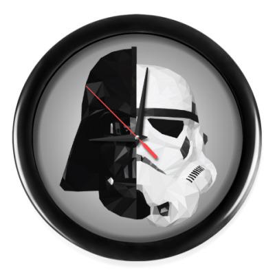 Настенные часы Star Wars: Вейдер и Штурмовик