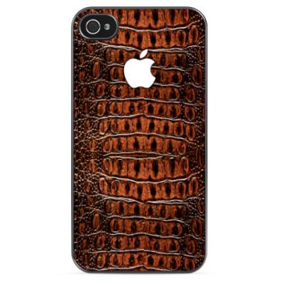 Чехол для iPhone Crocodile Style