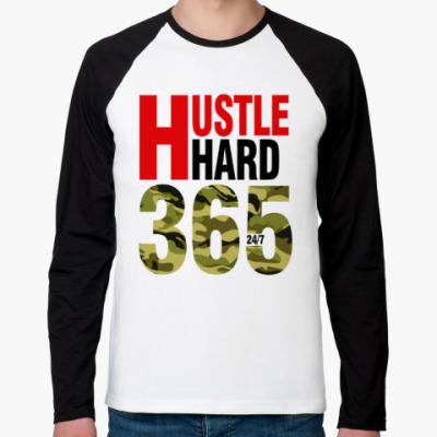 Футболка реглан с длинным рукавом Hustle HARD 365