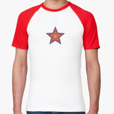 Футболка реглан  Star (мужск реглан)