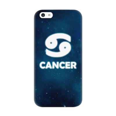 Чехол для iPhone 5c Знак зодиака. Рак