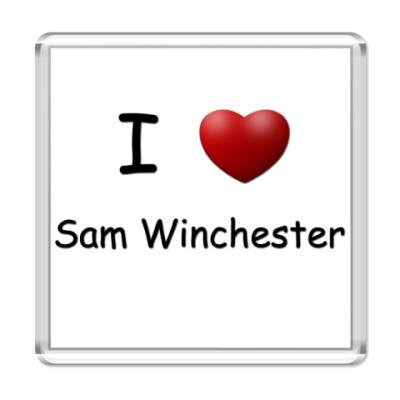 Магнит  I Love Sam