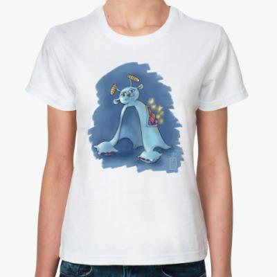 Классическая футболка Хыр-хыр, дух сна