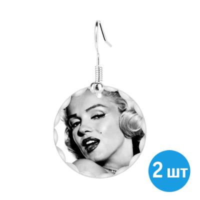 Серьги 'Marilyn Monroe'