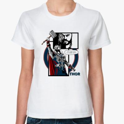 Классическая футболка T