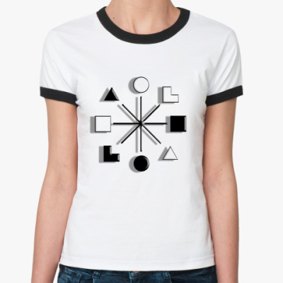 Женская футболка Ringer-T   ШТИРЛИЦ, ЛСЭ