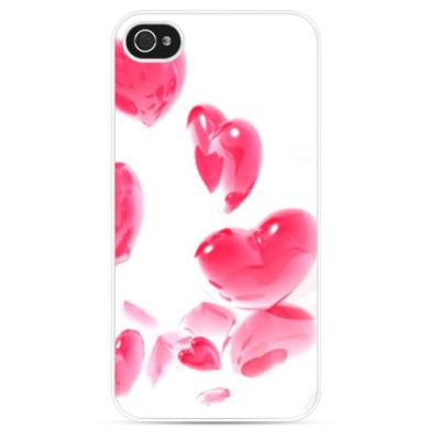 Чехол для iPhone Сердца