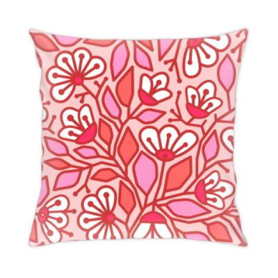 Подушка цветение