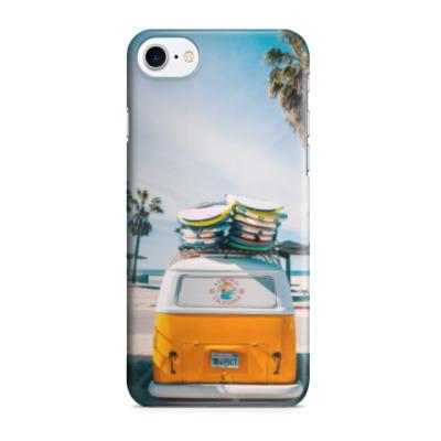 Чехол для iPhone 7/8 Едем на Пляж