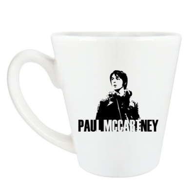 Чашка Латте Paul McCartney