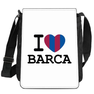 Сумка-планшет I Love Barca